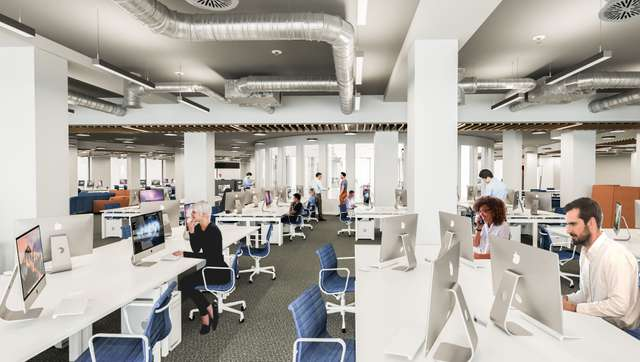 St Philips Point, Birmingham - Office Space CGI
