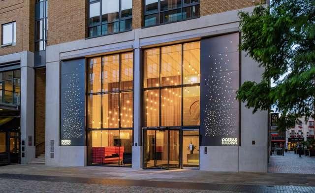 Oozells Building, 9 Brindleyplace, Birmingham - Exterior