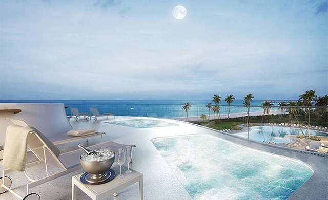 Jade Signature relaxing terrace