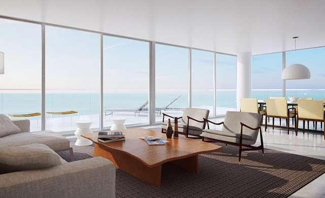 Hyde Resort & Residences. Living room.