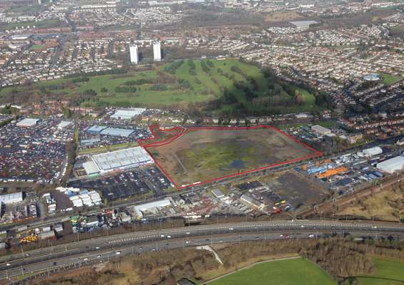 Retail Development Opportunity, Glasgow Gait Retail Centre, Glasgow - Picture 2017-12-06-11-00-28