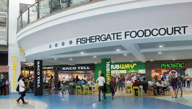 Food Court, Fishergate Shopping Centre, Preston