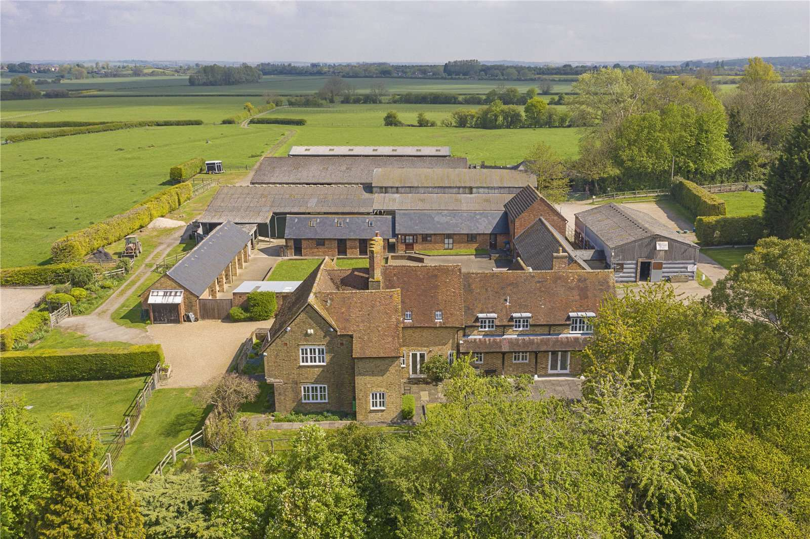 Savills | Manor Farm, Marsworth, Tring, Hertfordshire, HP23 4NA |  Properties for sale