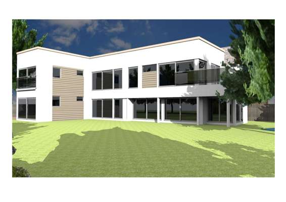 Rear Elevation CGI