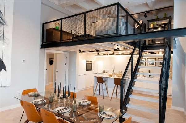 Kitchen & Mezzanine