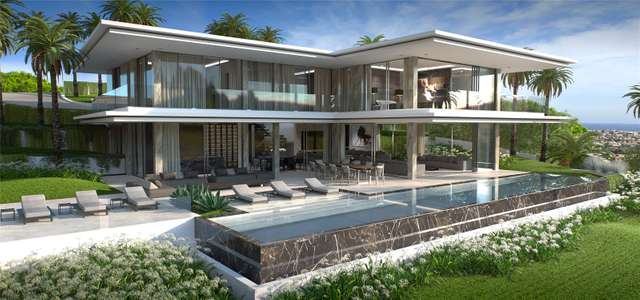 New Villa Cannes