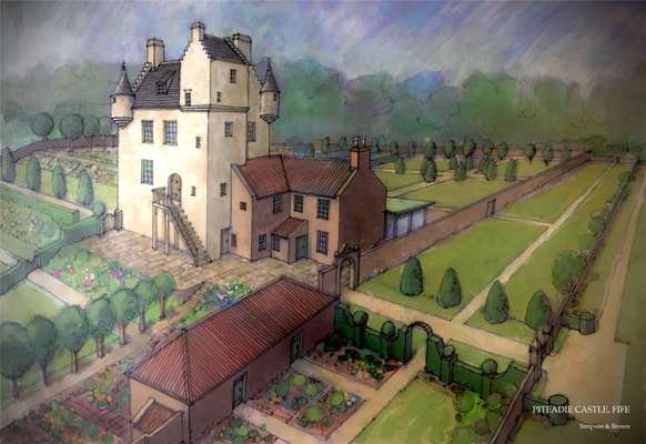 Piteadie Castle