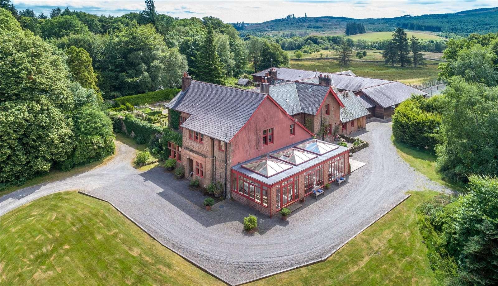 Savills | Slogarie House, Mossdale, Castle Douglas, Kirkcudbrightshire, DG7  2NL | Properties for sale
