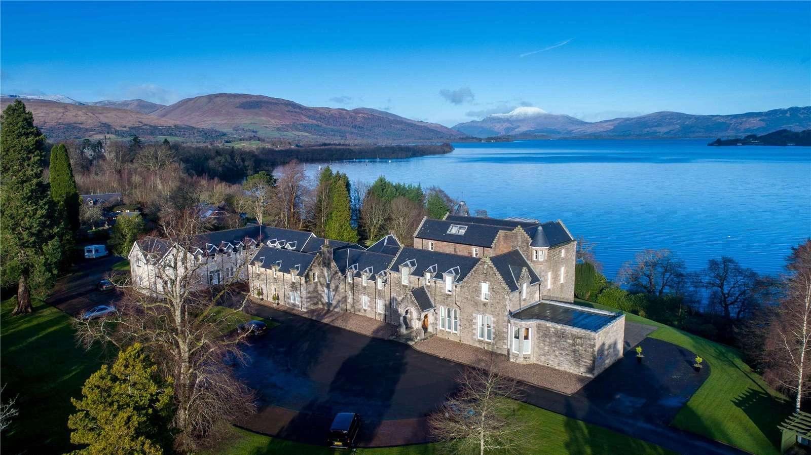 Lomond Castle Luss By Loch Lomond G83 8ee Properties For Sale Savills