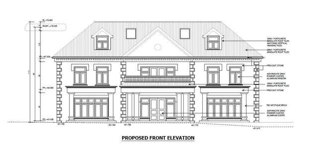 Front Elevation Plan