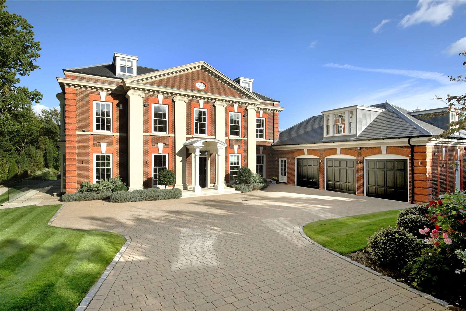 A stunning family home built by the multi award winning developers royalton located on the prestigious crown estate oxshott for sale