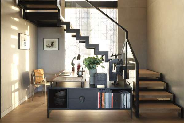Study/Staircase