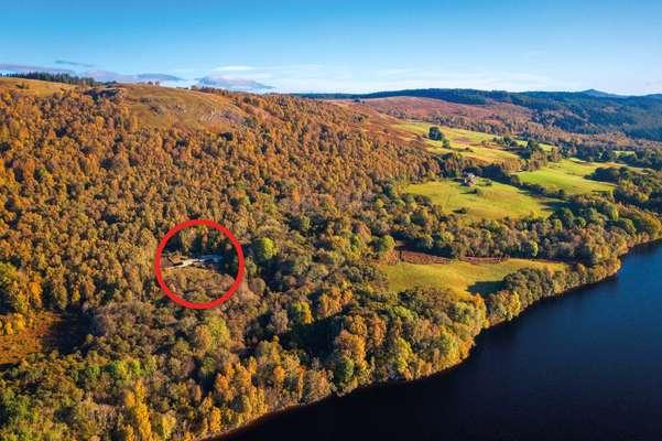 Loch Tummel Aerial