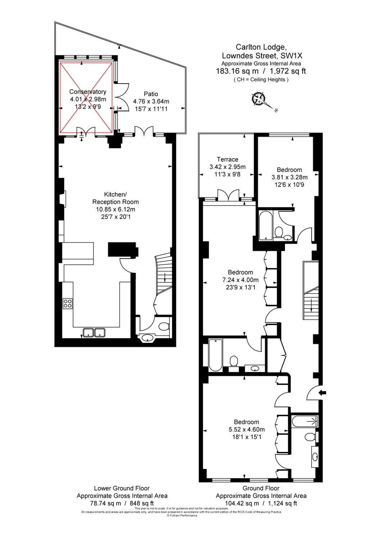 Savills Carlton Lodge 37 39 Lowndes Street London Sw1x 9jb Schematic Diagram X2 02 Property To Rent