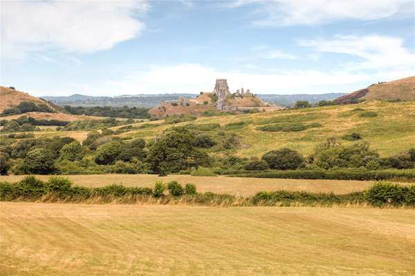 View To Corfe Castle