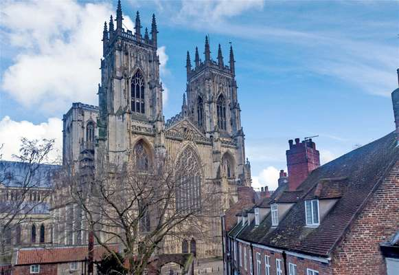View To York Minster