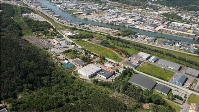 Gamlestadsvagen, 4000 kvm industri