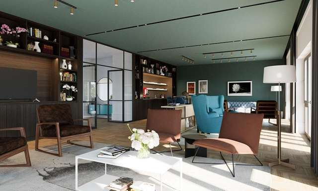 Residents lounge main