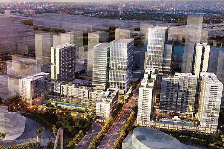 Dự án khu phức hợp Sóng Việt (The Metropole Thu Thiem)
